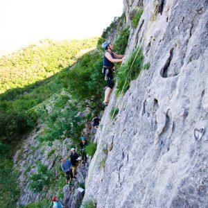 Začetni plezalni tečaj - Miha Hribar