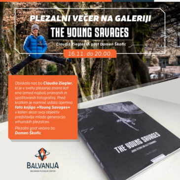 Plezalni večer na galeriji – The Young Savages