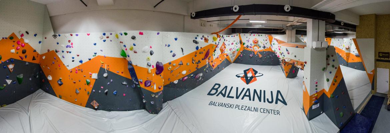 Balvanija - balvanski plezalni center