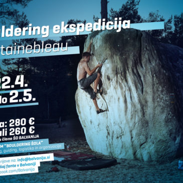 Bouldering ekspedicija – FONTAINEBLEAU