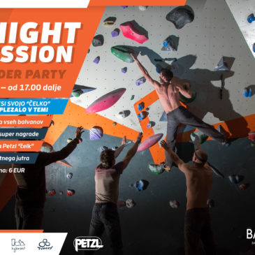 NIGHT SESSION boulder party
