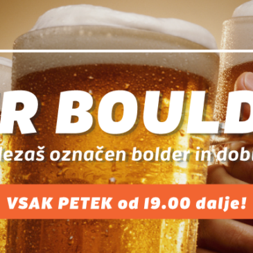 BEER BOULDER!!!