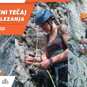 Obnovitveni tečaj skalnega plezanja