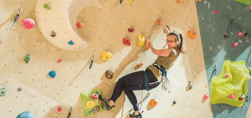 Plezanje na visoki steni ŠKG