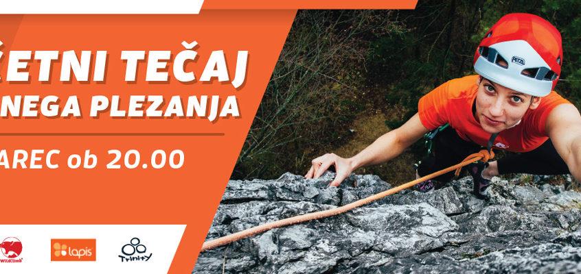 Začetni tečaj skalnega plezanja – 23. marec