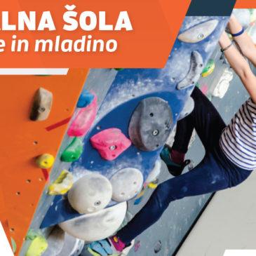 Plezalna šola za otroke in mladino!