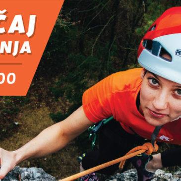 Začetni tečaj skalnega plezanja – 10. oktober