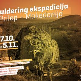 Bouldering ekspedicija  – PRILEP oktober 2017)