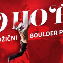 *HO HO HO!* – Predbožični Boulder Party!