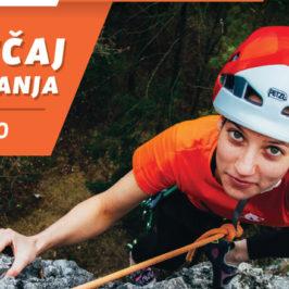 Začetni tečaj skalnega plezanja – 15. marec