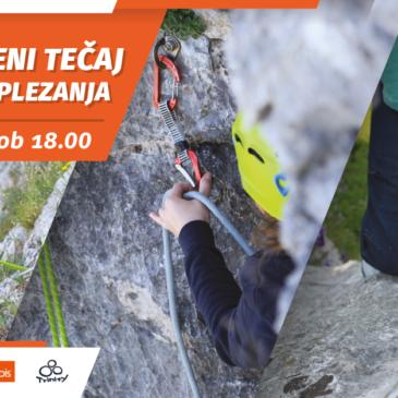 Obnovitveni tečaj skalnega plezanja in vrvne tehnike – 10. april
