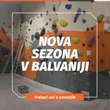 Nova sezona v Balvaniji