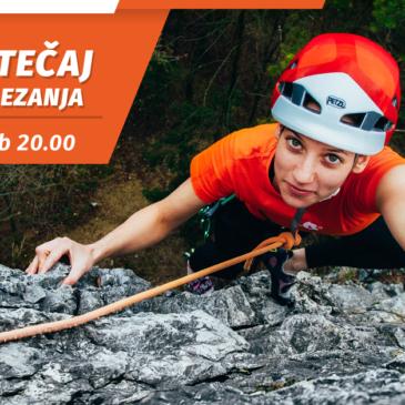Začetni tečaj skalnega plezanja – 16. OKTOBER