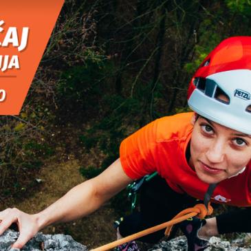 Začetni tečaj skalnega plezanja – 10. Marec