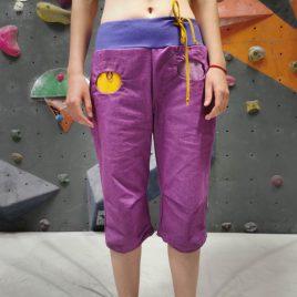 Ženske plezalne hlače Vijola