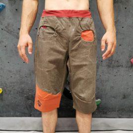 Moške plezalne hlače Natur