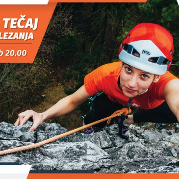 Začetni tečaj skalnega plezanja – 15. September