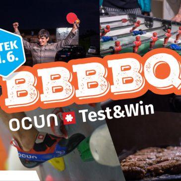 BBBBQ in testiranje Ocun plezalk – petek 11. 6.