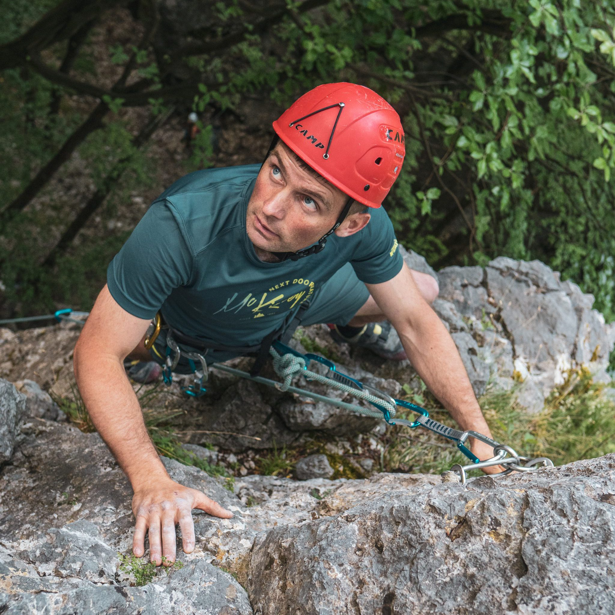 Tečaji skalnega plezanja